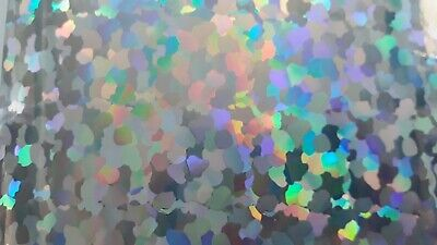 Prismatic Sticker Spearfishing Teaser A4 Sheet Silver Mirror