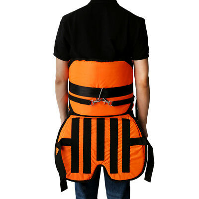 Sea Fishing Harness Adjustable Thickened Fighting Waist Belt with Cushion