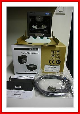 New  Datalogic Magellan 2200Vs Barcode Scanner With Antenne  New Complete
