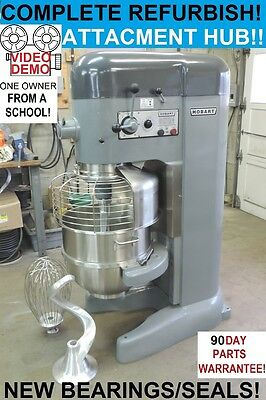 Hobart M802 80 Qt Quart Bakery Pizza Dough Mixer From a University - REFURBISHED
