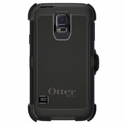 Otterbox Defender Shock Proof Case For Samsung Galaxy S5 Plus Belt Clip