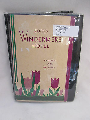 Vintage Collection 22 Hotel Tariff Cards 1930s Penrith / Windermere Cumberland