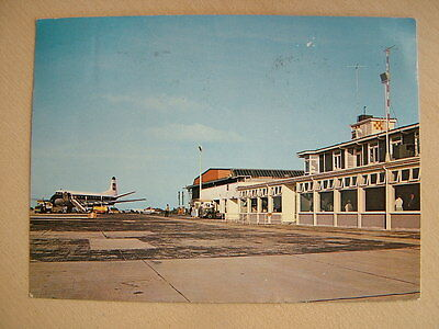 Postcard - GUERNSEY AIRPORT. Used 1962.