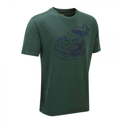 Aston Martin Racing Men's Car T-Shirt 2017 Green ADULT