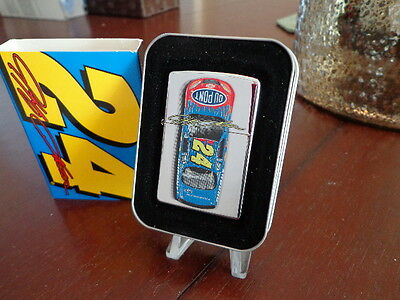 Jeff Gordon #24 Dupont Car Nascar Zippo Lighter Mint In Box