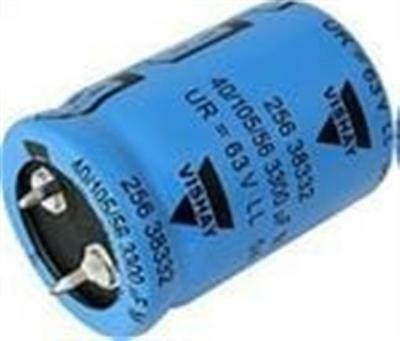 New Snap In 2 Pin Capacitor 25V 10000UF 35mm Diameter 30mm Height