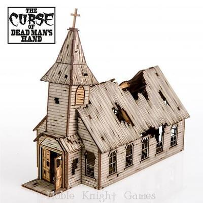 4Ground 28mm Old West Terrain Cursed Church, The Pack MINT
