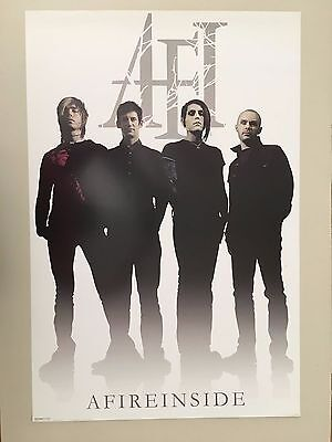Afireinside,music Band,rare Authentic Licensed 2006 Poster