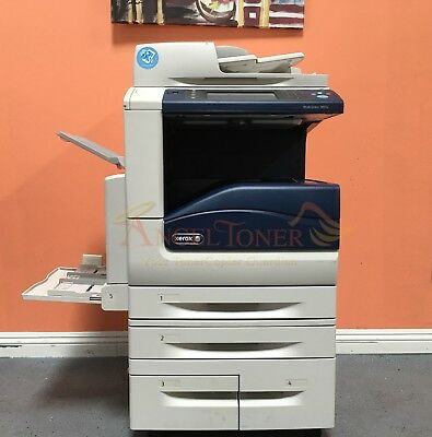 Xerox WorkCentre 7855i MFP Color Laser Copier Printer Scanner Email A3