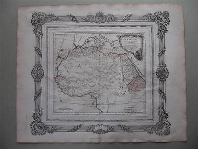 1766 - BRION - Decorative map NORTHERN AFRICA