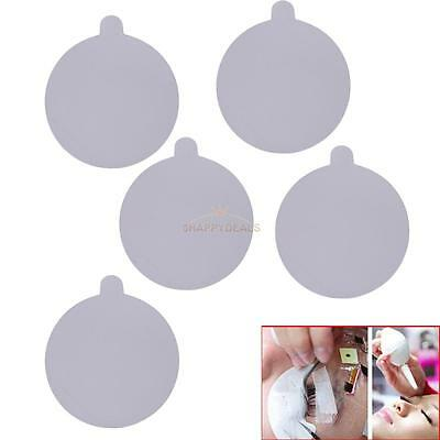 60Pcs Protective Glue Cover Stickers Jade Crystal Stone Eyelash Extension Tools