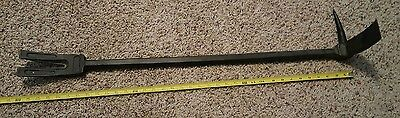 "TWO (2) 36"" Halligan Bars made by Leatherhead Tools NEW never used Forged Steel"