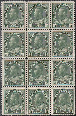 Canada UNITRADE # 107 Block of 12 stamps MNH  Value $ 360.00