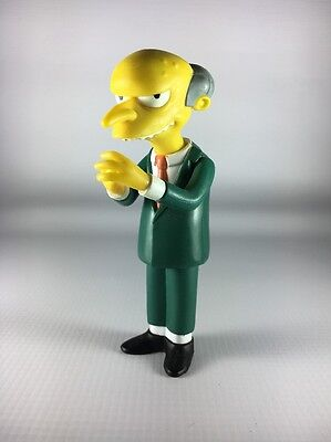 The Simpsons Mr Burns World of Springfield Interactive Figure Playmates 2000