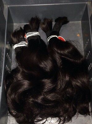 """16 """"7A Remy Brazilian Human Hair For Micro-rings Extension Clamps, Bonding Hair"""