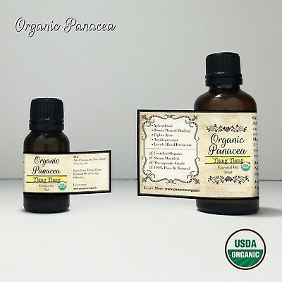 100% PURE Ylang Ylang Essential Oil | CERTIFIED ORGANIC | STEAM DISTILLED