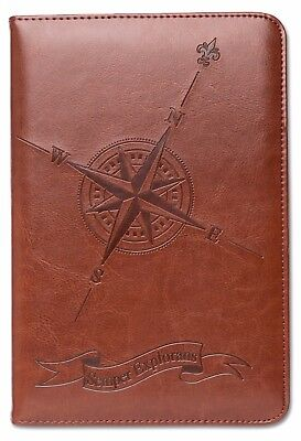 Personal Diary, Lined Writing Journal, Travel Journal, A5 Notebook, Compass Rose