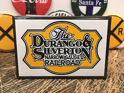 the DURANGO SILVERTON RAILROAD full backed refrigerator RR MAGNET