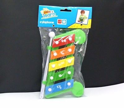 1xChildren's play and learn xylophone (green) *UK stock*