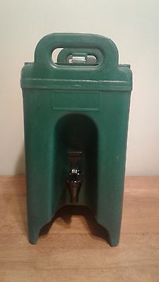 Green CAMBRO 250LCD 2.5 Gal INSULATED BEVERAGE DISPENSER Coffee Tea Urn Hot Cold