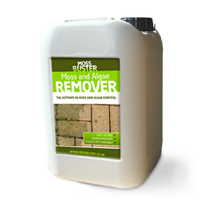Moss Terminator Moss & Algae Remover Cleaner Killer use on wall path furniture