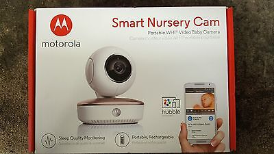 *NEW* Motorola Smart Nursery Cam Portable Wi-Fi Video Baby Monitor and Camera