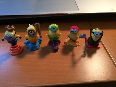 Kinder surprise: minion 5 mini figures LIMITED