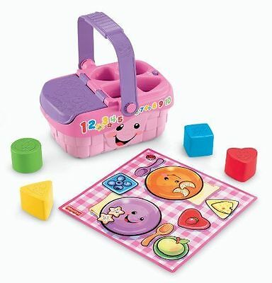 New Fisher Price Laugh & Learn Sweet Sounds Picnic Toy