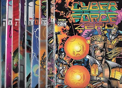 Cyberforce Lot Of 9 - #0 #2 #3 #4 #5 #6 #7 #8 #9 (Nm-)