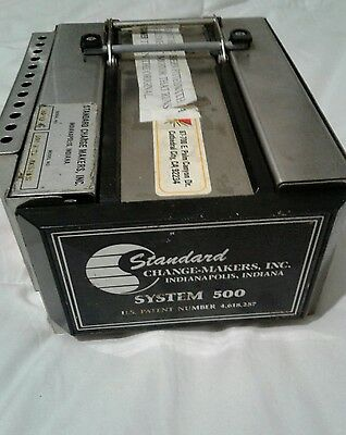 Standard Change Makers 500 Note Acceptor 500D