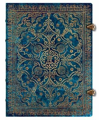 New Paperblanks JOURNAL Azure Equinoxe Blue LINED Midi 7 x 9 Diary Log Book gift