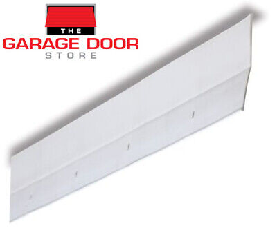 Garage Door Weather Seal - Reverse Angle Vinyl Jamb Seal - One Car Garage Door