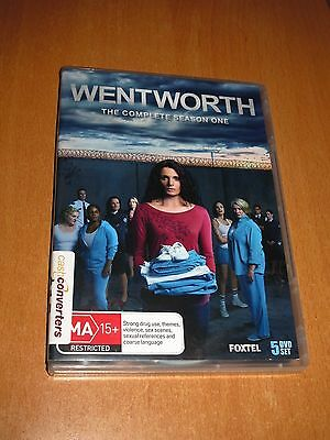WENTWORTH - THE COMPLETE SEASON ONE 1 ( 5 Disc Set DVD ) REGION 4