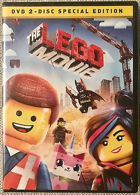 The LEGO Movie (DVD, 2014, 2-Disc Set, Special Edition