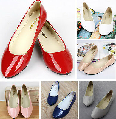 Women Shoes Ballet Flats Plus Size 42 Casual Sapatos Loafers Zapatos Multi-Color
