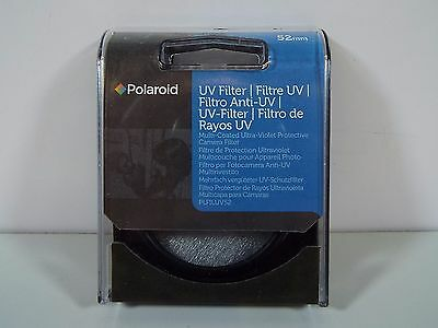 Polaroid 52Mm Multi-Coated Uv Protective Camera Lens Filter Plfiluv52 (B3100)