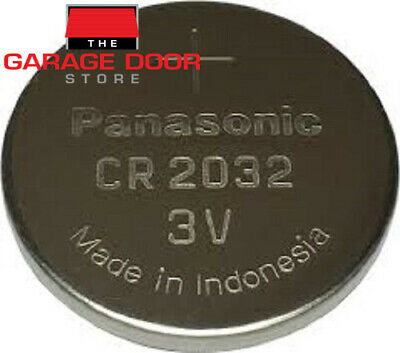 Garage Door Remote Replacement Battery - Cr2032 Lithium Button Battery