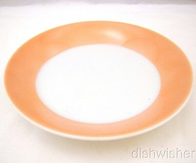"""Fitz & Floyd RONDELET PEACH Lot of 5 Saucers 5 1/2"""" EXCELLENT"""