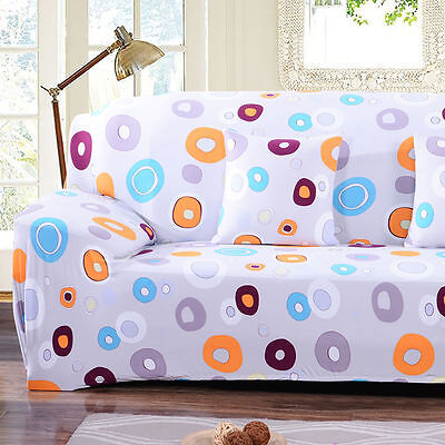 1 2 3 4 Seat Stretch Elastic Slipcover Sofa Cover Couch Furniture Protector Fit