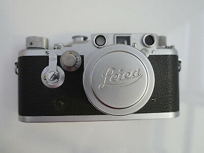 Rare Leica IIId camera with Summitar 5cm f2