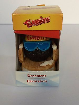 Tim Horton's Limited Edition Collectible Christmas Ornament - Tim Bit on Sled