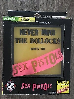 SEX PISTOLS - 'Never Mind the Bollocks' 3D Album Cover Replica Poster #NEW
