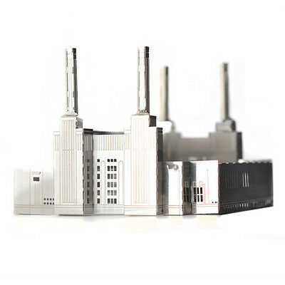 NEW MONUmini stainless steel architecture model - Battersea power station by Des