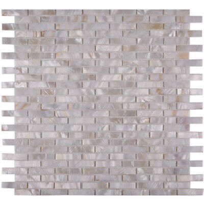 CHOIS A201 Mother of Pearl Shell Backsplash Tiles Mosaic Tile Home Walls Decor