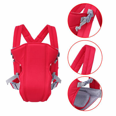 Adjustable Infant Baby Wrap Sling Breathable Ergonomic Newborn Backpack Carrier