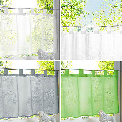 Small Curtain Window Screens Lifting Strap Hanging Valances Home Decoration