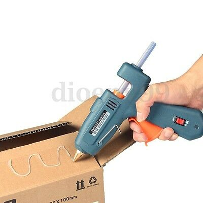 AU Switchable 60/100W Hot Melt Glue Gun Heating Craft Repair Tool New