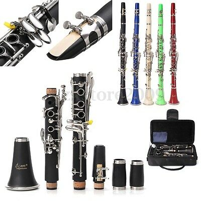 LADE Beginners Clarinet 17 Keys Musical Instrument Orchestra Band School Gift AU