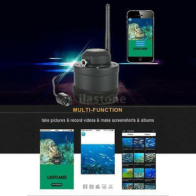 LUCKY Wifi Underwater Fishing Inspection Camera 80M Wireless Operating 2017 H2N9