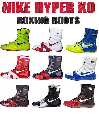 NEU ! Nike HyperKO Boxschuh Boxstiefel Boxing Shoes Boots Chaussures de Boxe